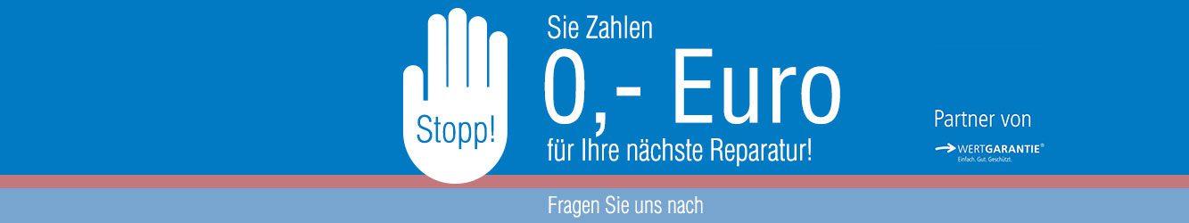 Reparatur für 0,- Euro